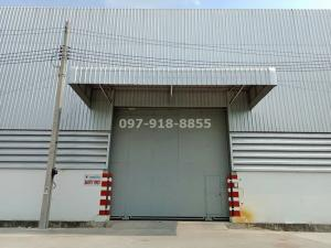 For RentWarehouseChengwatana, Muangthong : Warehouse for rent 450 sq m., 345-Chaiyapruek Rd. 15 minutes away from Central Chaengwattana