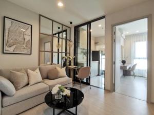 เช่าคอนโดอ่อนนุช อุดมสุข : ให้เช่าห้อง30ตรม ใหม่100% ครัวปิด แต่งสวยเหมือนห้องตัวอย่าง