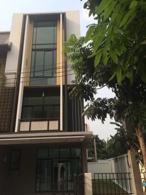 For SaleTownhouseBang Sue, Wong Sawang : Flora วงศ์สว่าง 3 ชั้นครึ่งหลังมุม