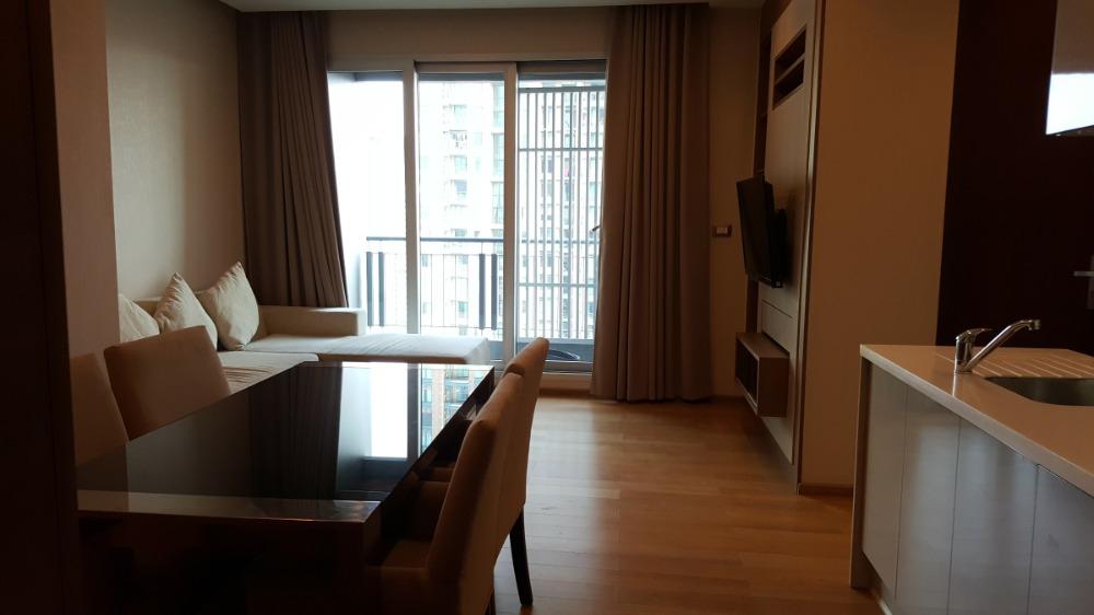 For RentCondoRama9, RCA, Petchaburi : 1985 (AT) -A😊 For RENT 2 bedroom for rent 🚄 next to MRT Phetchaburi 🏢 The Address Asoke The Address Asoke🔔 Area: 64.96 sq m 💲 Rent: 50,000.- baht 📞099-5919653✅LineID: @sureresidence