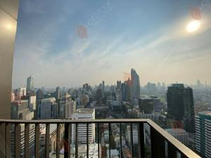 For SaleCondoWitthayu,Ploenchit  ,Langsuan : New price Jul'Price! 28 Chidlom, highest floor, one room! 2 bedrooms, 2 bathrooms, beautiful view ^^