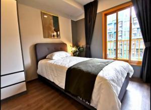 เช่าคอนโดอ่อนนุช อุดมสุข : +++เช่าด่วน++ THE BASE Sukhumvit 50*** 2 ห้องนอน ขนาด 46 ตารางเมตร ห้องสวยพร้อมอยู่