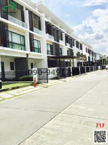 For RentTownhouseYothinpattana,CDC : Townhome for rent, The Terrace Ramintra 65, fully furnished, behind the corner