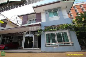 For RentHouseRamkhamhaeng,Min Buri, Romklao : 2 storey detached house for rent, Minburi, Romklao, Ramkhamhaeng, near Min Buri Fresh Market, near the Orange and Pink Line BTS station interconnection.