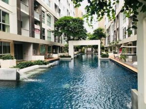 For RentCondoOnnut, Udomsuk : Condo for rent A Space Sukhumvit 77 very cheap.