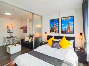 ขายคอนโดบางนา แบริ่ง : Room for Sell Dcondo Campus Resort Bangna (ขายคอนโด ดีคอนโด แคมปัส รีสอร์ท บางนา ใกล้เอแบคบางนา)