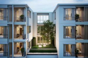 For RentCondoKasetsart, Ratchayothin : Miti Condo Lad Phrao Wang Hin, ready to move in, 28 sqm, prices start at 9000 baht.