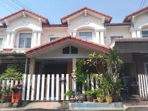 For SaleTownhouseLadkrabang, Suwannaphum Airport : Urgent townhouse for sale The Connect 3 2 pm price 1.85 million (Soi King Kaew 43)