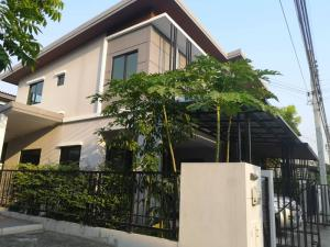 For SaleHouseSamrong, Samut Prakan : Townhouse for sale, Nature Trend Srinakarin, behind the rim, near BTS Srinakarin and near the expressway.