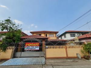 For SaleHouseRangsit, Patumtani : Promotion buy now, stay free for 2 years, Phrapin Village 7 House for sale 51 sq m, 2 floors