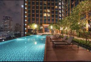 เช่าคอนโดพระราม 9 เพชรบุรีตัดใหม่ : For Rent Lumpini Suite Phetburi-Makkasan 32mปล่อยเช่าคอนโดLPN  27 m เพชรบุรี- มักกะสัน