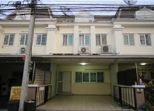 For RentTownhouseKaset Nawamin,Ladplakao : RT491 Townhouse for rent, 2 floors, 3 bedrooms, 2 bathrooms, The Exclusive, Nuanchan 56.
