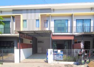 For SaleTownhouseLadkrabang, Suwannaphum Airport : 2 storey townhome for sale, The Connect Suan Luang-On Nut project