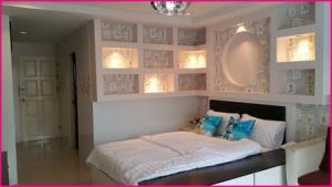 For RentCondoLadprao, Central Ladprao : For rent, Ratchada Prestige Condo Ladprao 48, Sutthisan, pool view.