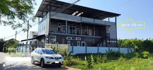 For RentHome OfficePattanakan, Srinakarin : RHT419 2-storey home office for rent with warehouse Krungthep Kreetha Laem Thong Athlete Village, Soi 30