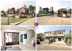 For SaleHouseRama 2, Bang Khun Thian : For sale Village Gio Villagio2 Rama 2 Soi 100 very beautiful projects. New house Land & house The best atmosphere on the Rama 2 line