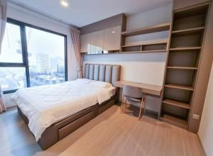 For RentCondoRama9, RCA, Petchaburi : 💕 For rent a new room, unpacked 1 bedroom, Condo Life Asoke-Rama 9, Building B, 26th floor, complete electrical appliances Can go in
