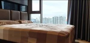 For RentCondoOnnut, Udomsuk : Rent Condo Whizdom Connect Sukhumvit, furniture and appliances.