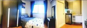 For RentCondoSamrong, Samut Prakan : Condo for rent Lumpini Mixx Thepharak Srinakarin near bts Samrong East, beautiful view