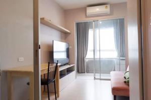For RentCondoSamrong, Samut Prakan : For rent, Niche Mono Sukhumvit - Pu Chao, spacious room, next to BTS Pu Chao Saming Prai