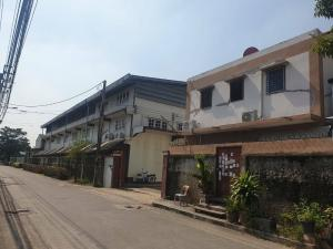 For SaleFactoryBangna, Lasalle, Bearing : Land for sale with factory, 596 square wa, Soi Bangna-Trad 40 (Km.3 inbound) opposite Central Bangna 95,000,000 baht (159,000 baht / sqw)