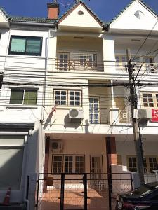 For RentTownhouseLadprao 48, Chokchai 4, Ladprao 71 : Townhouse for rent, Ketutichemine Village, Soi Ladprao 87, Ladprao Road, area 16 square wah, 3 floors, 4 bedrooms, 3 bathrooms, 1 car park, Wang Thonglang