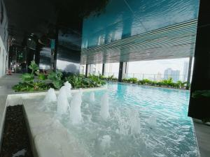 For SaleCondoRatchadapisek, Huaikwang, Suttisan : Free down payment, selling at a loss, cheapest, installments at 1,000 baht per million, can borrow more than 100%, easy installments 9,000/month, new room