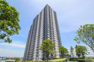 For RentCondoSamrong, Samut Prakan : Notting Hill Sukhumvit Praksa, ready to move in, 24 sqm, prices start at 6000 baht.
