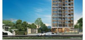For RentCondoSamrong, Samut Prakan : Niche Mono Sukhumvit Pu Chao, ready to move in, 35 sqm, starting price 9500 baht Line ID : @condobkk (with @ too)