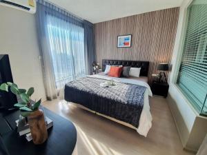 For RentCondoOnnut, Udomsuk : ✅ For rent, RHYTHM Sukhumvit 44/1, near BTS, size 45 sqm, complete with furniture and electrical appliances ✅
