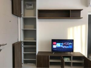 For RentCondoPinklao, Charansanitwong : For rent D Condo Than Charansanitwong, new room, furniture and appliances, ready to move in.