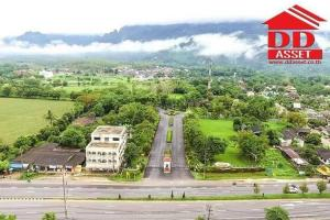For SaleLandChiang Rai : Land for sale, Mae Sai Garden City Project, Chiang Rai, on Phaholyothin Road Near the mouth of the alley, the entrance to Khun Nam Nang Non, Tham Luang