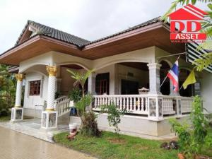 For SaleHousePhatthalung : Urgent sale, single house with land area of 1-1-16.4 rai, Muang District, Phatthalung Province, near HomePro, Phatthalung Stadium.