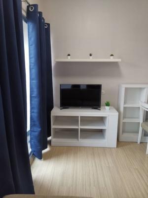 เช่าคอนโดพระราม 9 เพชรบุรีตัดใหม่ : 🔥สุดคุ้ม!! เช่าถูก เดินไป MRT พระราม 9 ได้ A Space อโศก รัชดา ห้อง 1 bed กั้นเป็นสัดส่วน