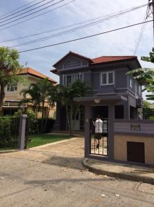 For SaleHouseRangsit, Patumtani : OK-M024 House for sale, fairy condition. Maneerin Lake and Park Village