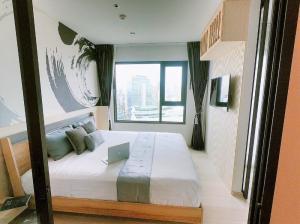 For RentCondoWitthayu,Ploenchit  ,Langsuan : 2105-A😊 For RENT 1 bedroom for rent 🚄 near BTS Ploenchit 🏢 Life One Wireless Life One Wireless 🔔 Area: 35.00 sq m. Rent: 24,000.- baht 📞099-5919653✅LineID: @sureresidence