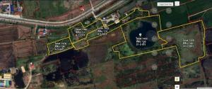 For SaleLandCentral Provinces : Land for sale 65 rai 2 ngan 55 square wah, Ayutthaya Province, Bang Pa-in