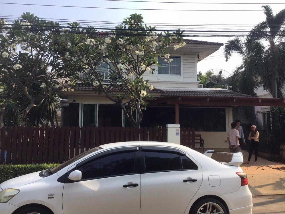 For RentHouseRama 2, Bang Khun Thian : 2 storey detached house for rent near Central Department Store, Pruklada University, Rama 2