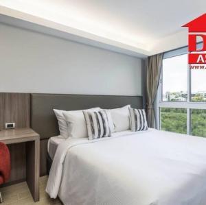 For RentCondoRama9, Petchburi, RCA : FOR RENT Maitria Residence Rama9 -BANGKOK serviced apartment Short-term Ready to move in, near MRT Phetchaburi, Central Rama 9