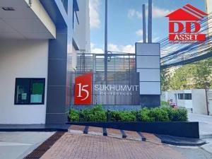 ขายคอนโดนานา : ขายคอนโด 15 Sukhumvit Residences (15 สุขุมวิท เรสซิเด็นท์) ใกล้ BTS นานา Condo for sale Condo 15 Sukhumvit Residences near BTS Nana