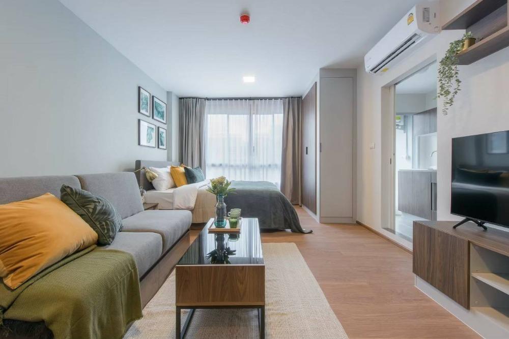 For RentCondoPinklao, Charansanitwong : D Condo Than Charan - Bang Khunnon DCONDO TANN CHARAN - BANGKHUNNONT Studio for rent, 30 sqm, only 7,500 baht.