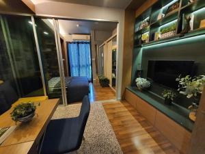 For RentCondoRattanathibet, Sanambinna : Condo for rent A SPACE ME Rattanathibet, corner room