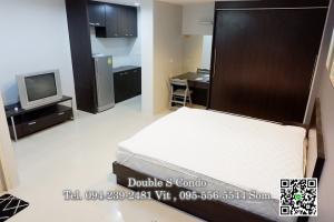 For RentCondoBangbuathong, Sainoi : #For rent, The Square Bangyai (The Square Bangyai), size 35 sq m, Building B2, 5th floor.