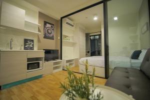 For RentCondoSamrong, Samut Prakan : Condo for rent: THE CABANA, super beautiful room, ready to move in, ready to move in, ready to finish !!
