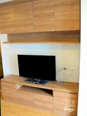 For SaleCondoPattanakan, Srinakarin : Condo for sale next to Airport link Huamark, convenient access to town, Lumpini Place Srinakarin - Hua Mak, large room, fully furnished.