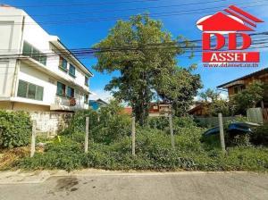 For SaleLandPinklao, Charansanitwong : Land for sale 159 sq.w. next to Soi Suan Phak 19 road. Near Krung Non Market, Taling Chan, Ratchaphruek Road, Kanchanaphisek Road Near Kanchana Expressway - Chatuchak