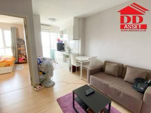 For SaleCondoBang kae, Phetkasem : Condo Fuse Sense Bangkae (Fuse Sense Bangkae) Condo near MRT Blue Line for sale with furniture. Ready to move in