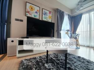 For RentCondoThaphra, Wutthakat : Hot Price! For rent Whizdom Station Ratchada-Thapra 1 bedroom near Bts pool market, very beautiful corner room, fully furnished, free True Wifi + True Tv + scrubber air