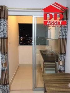 For SaleCondoBangna, Lasalle, Bearing : Condo for sale City Home Srinakarin Soi Lasalle Sukhumvit 105 for sale with furniture and complete electrical appliances. Near the Yellow Line, near Sikarin Hospital