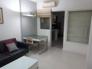 For SaleCondoRatchadapisek, Huaikwang, Suttisan : Urgent sale, The Room Ratchada Ladprao, 1 bedroom, 1 bathroom, 41 sq m, high floor, fully furnished room, ready to move in.